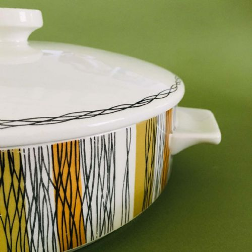 Midwinter | Jessie Tait | Sienna Lidded Tureen Serving Dish | 1960s